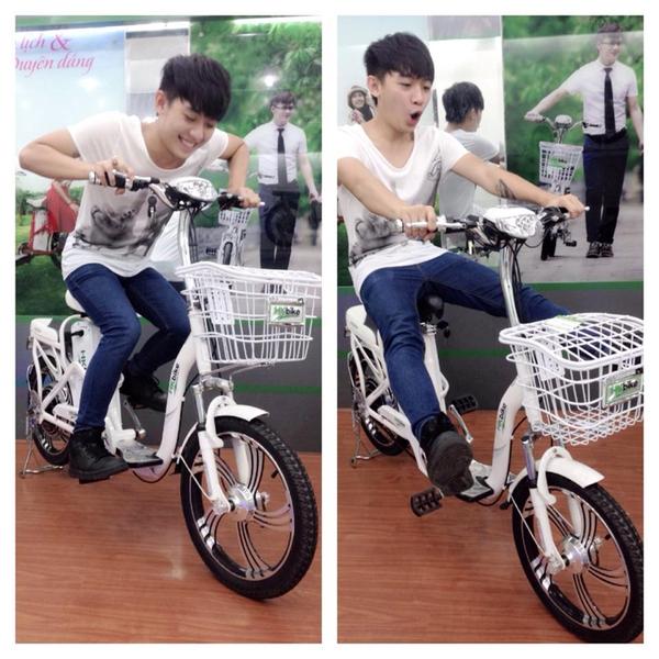 Hà Lade, Phở cùng dàn hot boy, hot girl cực chất bên xe đạp điện 8