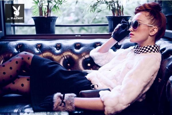 BST thời trang Playboy mùa Giáng sinh   playboy tung bst day loi cuon cho mua giang sinh