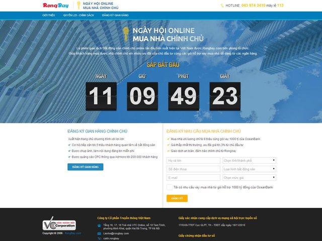 Độc đáo với hình thức mua nhà online chính chủ tại Rongbay.com 2