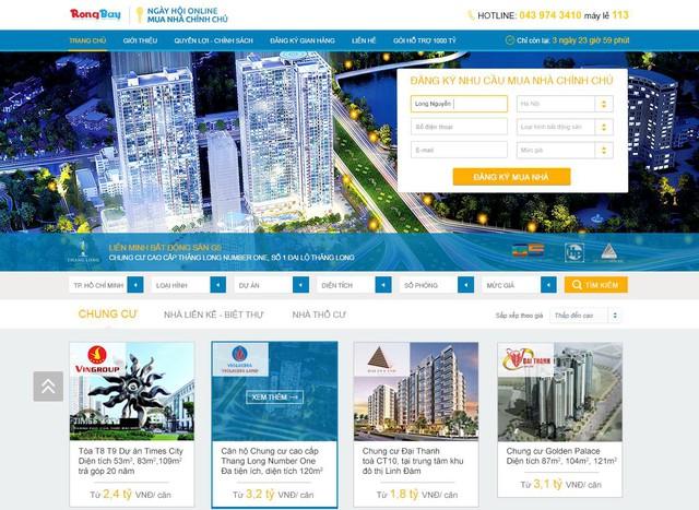 Độc đáo với hình thức mua nhà online chính chủ tại Rongbay.com 3