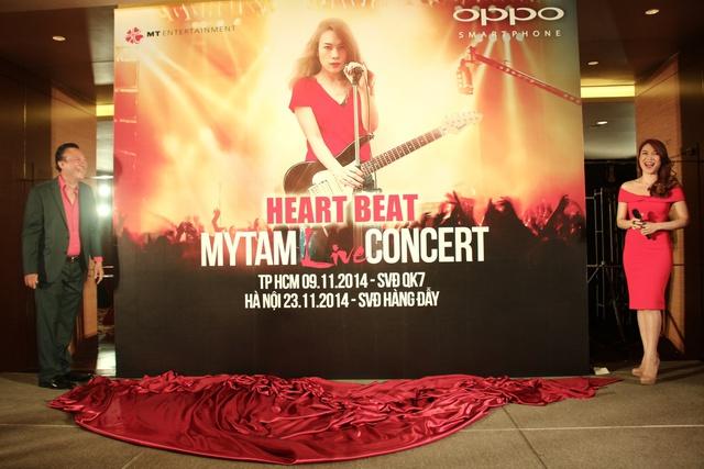 Fan háo hức từng ngày để nhận vé miễn phí xem live concert Mỹ Tâm
