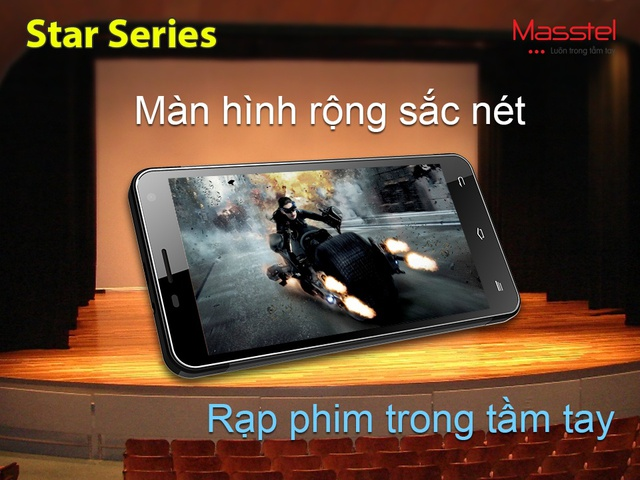 Masstel ra mắt điện thoại màn hình lớn với những tính năng hướng tới giới trẻ 1