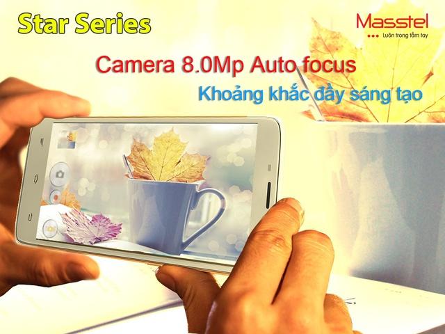 Masstel ra mắt điện thoại màn hình lớn với những tính năng hướng tới giới trẻ 2