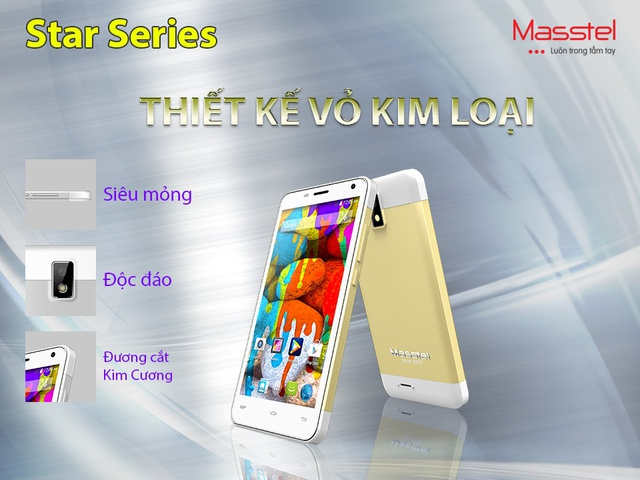 Masstel ra mắt điện thoại màn hình lớn với những tính năng hướng tới giới trẻ 4
