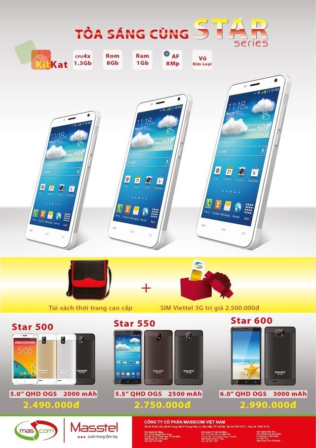 Masstel ra mắt điện thoại màn hình lớn với những tính năng hướng tới giới trẻ 5