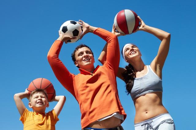 Giúp cả nhà khỏe mạnh với phong cách sống năng động. 2