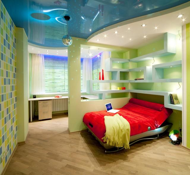 Trang trí phòng bé đẹp lung linh với chất liệu thạch cao 1