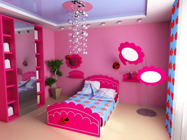 Trang trí phòng bé đẹp lung linh với chất liệu thạch cao 3