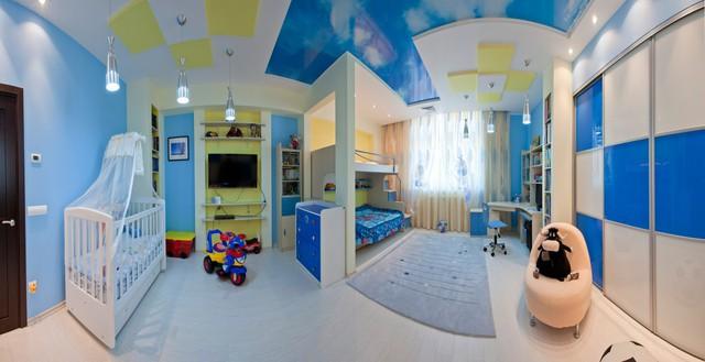 Trang trí phòng bé đẹp lung linh với chất liệu thạch cao 5