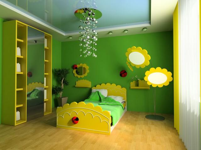 Trang trí phòng bé đẹp lung linh với chất liệu thạch cao 8