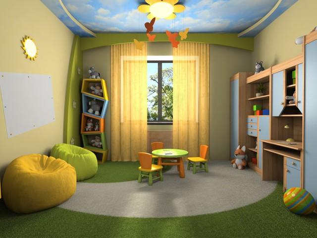 Trang trí phòng bé đẹp lung linh với chất liệu thạch cao 9
