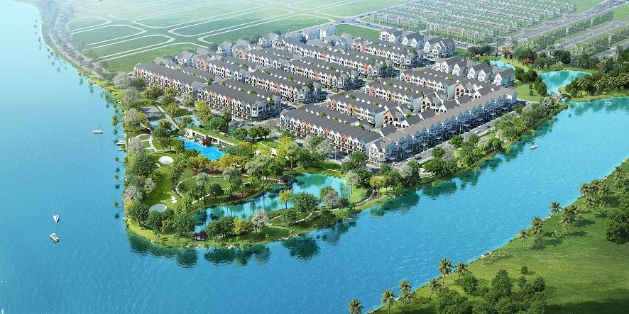 Biệt thự ven sông: chốn an cư của giới nhà giàu