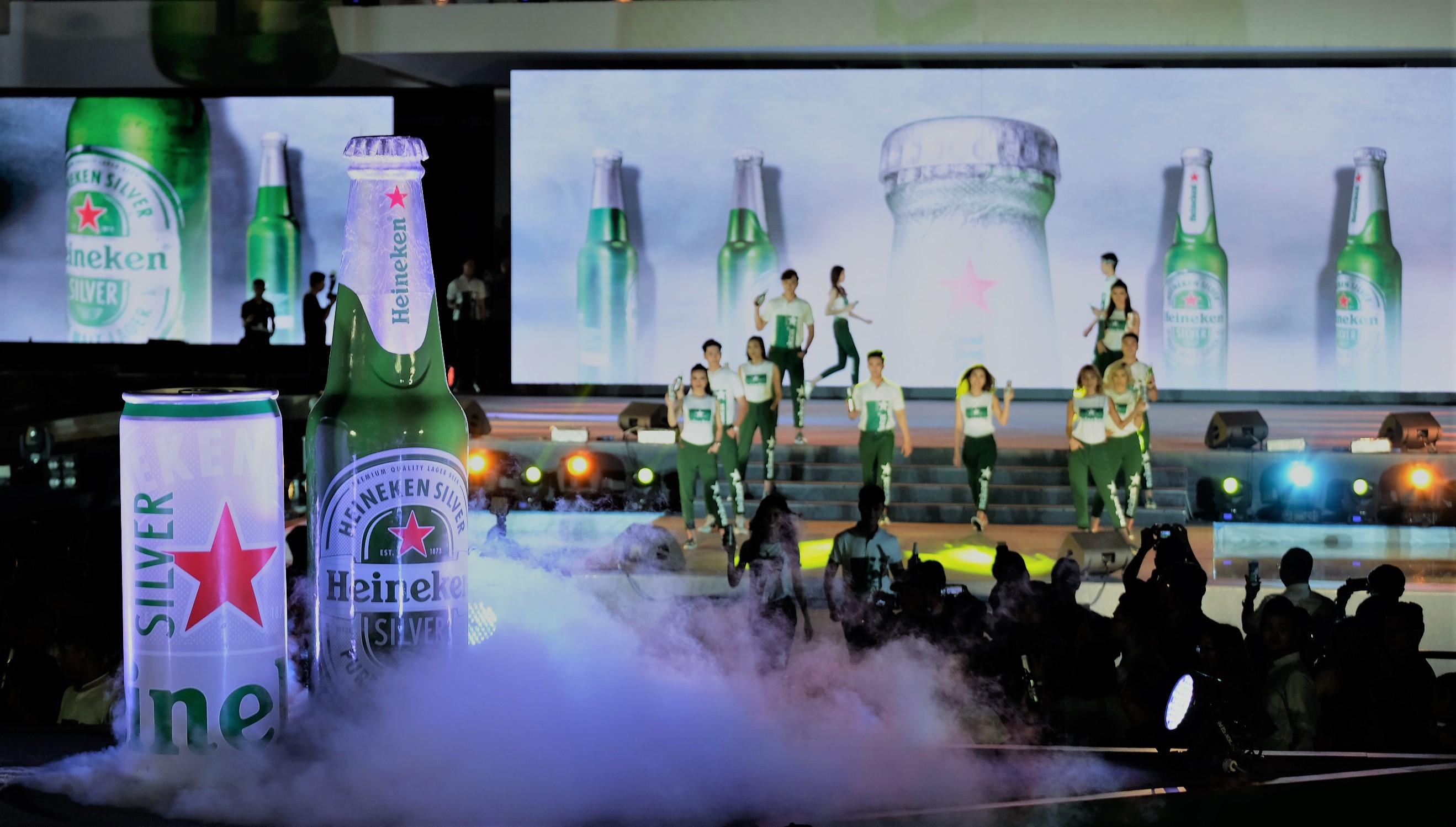 Thị trường Bia Việt chào đón sản phẩm bia mới – Heineken Silver