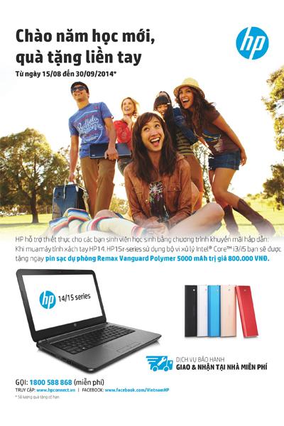 HP ra mắt máy tính cực hot mùa tựu trường