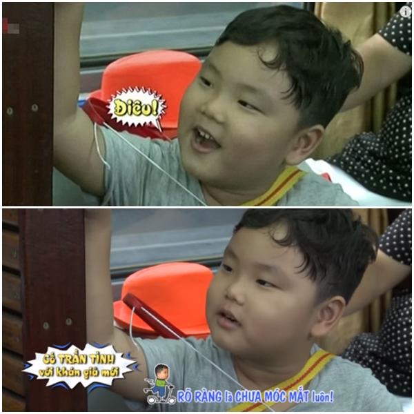 """Cậu bé không ngần ngại """"vạch trần"""" bố Xuân Bắc."""