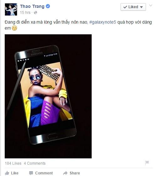 Dàn sao Việt hí hửng khoe điện thoại vừa tậu