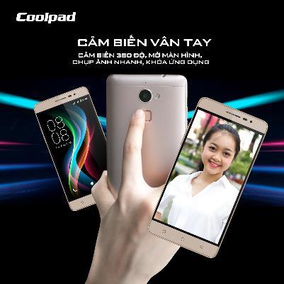 COOLPAD SHINE - Điện thoại cảm biến vân tay hứa hẹn chinh phục giới trẻ