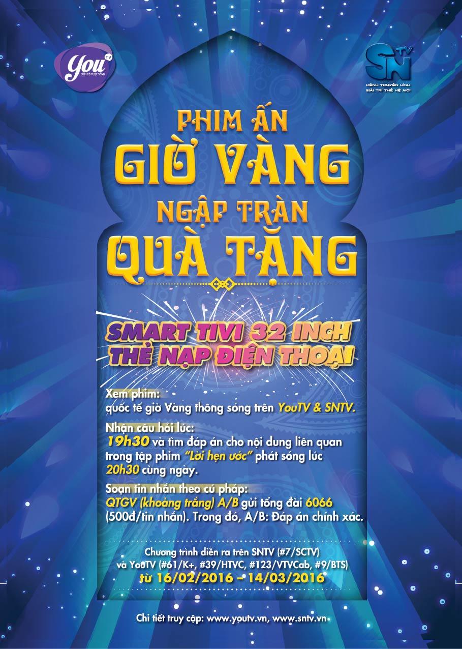 Xem phim Ấn giờ vàng, nhận quà hoành tráng cùng SNTV và YouTV - Ảnh 6.