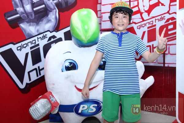 """""""Doraemon tóc xoăn"""" của """"The Voice Kids 2014"""": Em không thấy mình béo!"""