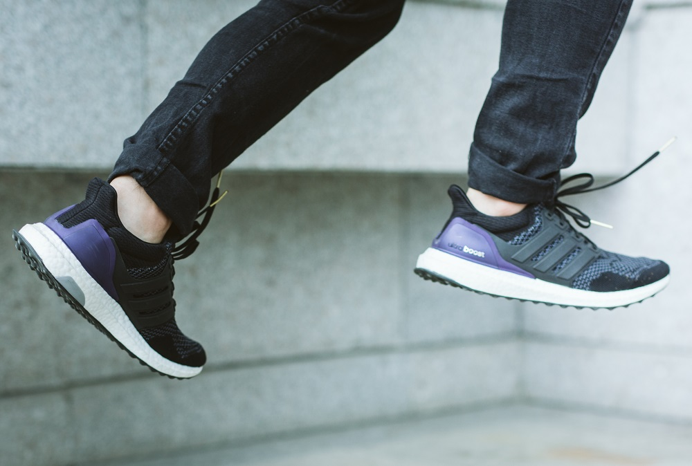 Adidas Ultra Boost Black With Jeans