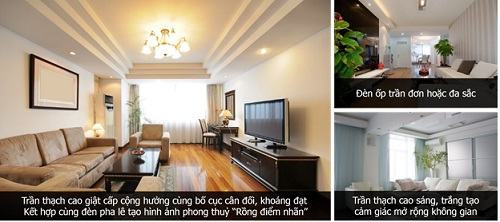 3 xu hướng thiết kế trần thạch cao phòng khách ấn tượng nhất năm 2014 (1)