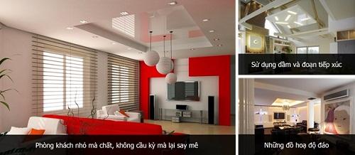 3 xu hướng thiết kế trần thạch cao phòng khách ấn tượng nhất năm 2014 (2)