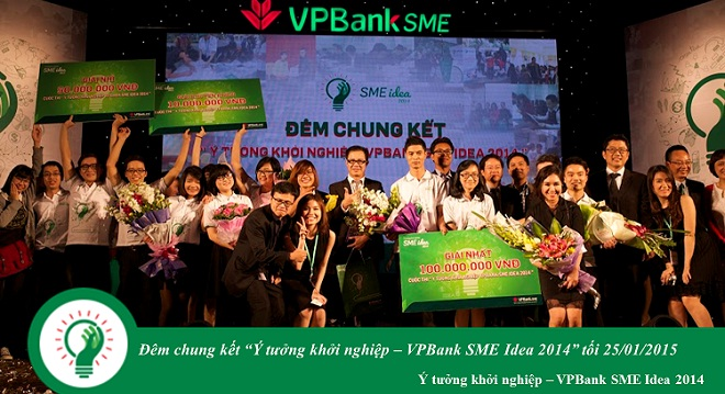 """VPBank SME và câu chuyện Cuộc thi khởi nghiệp có tên """"Idea"""""""