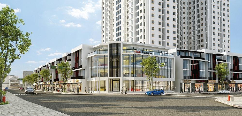 Nhà phố thương mại Gamuda Gardens - xây dựng cuộc sống vững bền