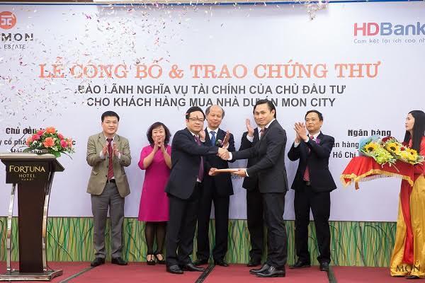 Mon City là dự án đầu tiên ở Hà Nội được ngân hàng bảo lãnh