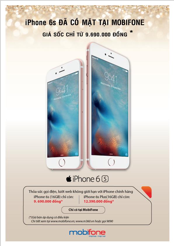 MobiFone chính thức tham gia cuộc đua phân phối iPhone tại thị trường Việt Nam