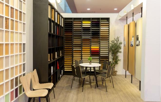 Không gian nội thất độc đáo của Gỗ An Cường tại Vietbuild Hà Nội 2016
