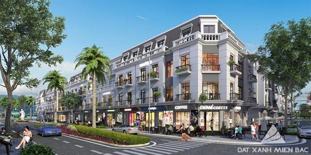 Mô hình Shophouse- Vinhomes Dragon Bay hút khách