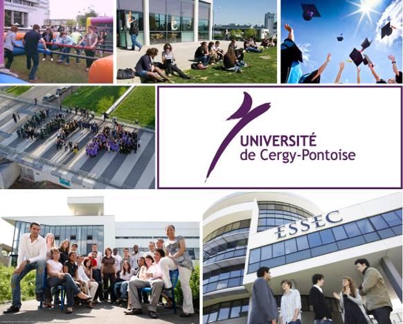 Đại học Cergy-Pontoise là trường đại học công lập đứng thứ 17 trên toàn nước Pháp