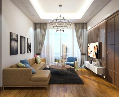 Ảnh thiết kế căn hộ mẫu The Arcadia