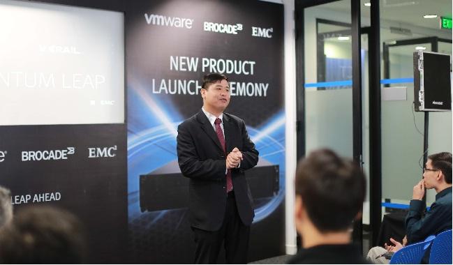 EMC công bố siêu phẩm Vxrail và DSSD