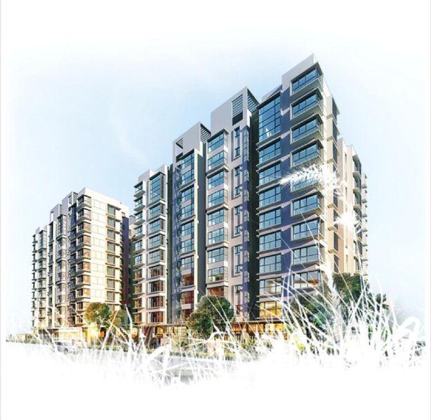 Toà căn hộ Canal Park – Ha Noi Garden City