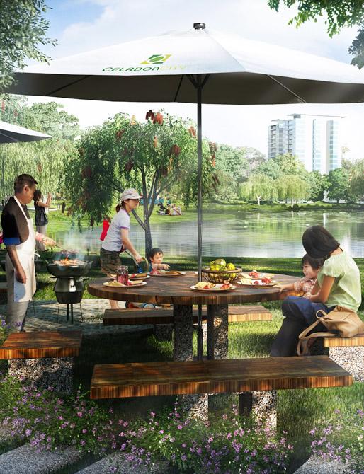 Celadon City – Nơi lý tưởng để bạn chia sẻ những khoảnh khắc bên gia đình và bạn bè.