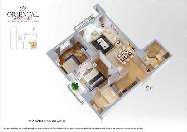 Mỗi căn được thiết kế hợp lý với 29 loại diện tích khác nhau.