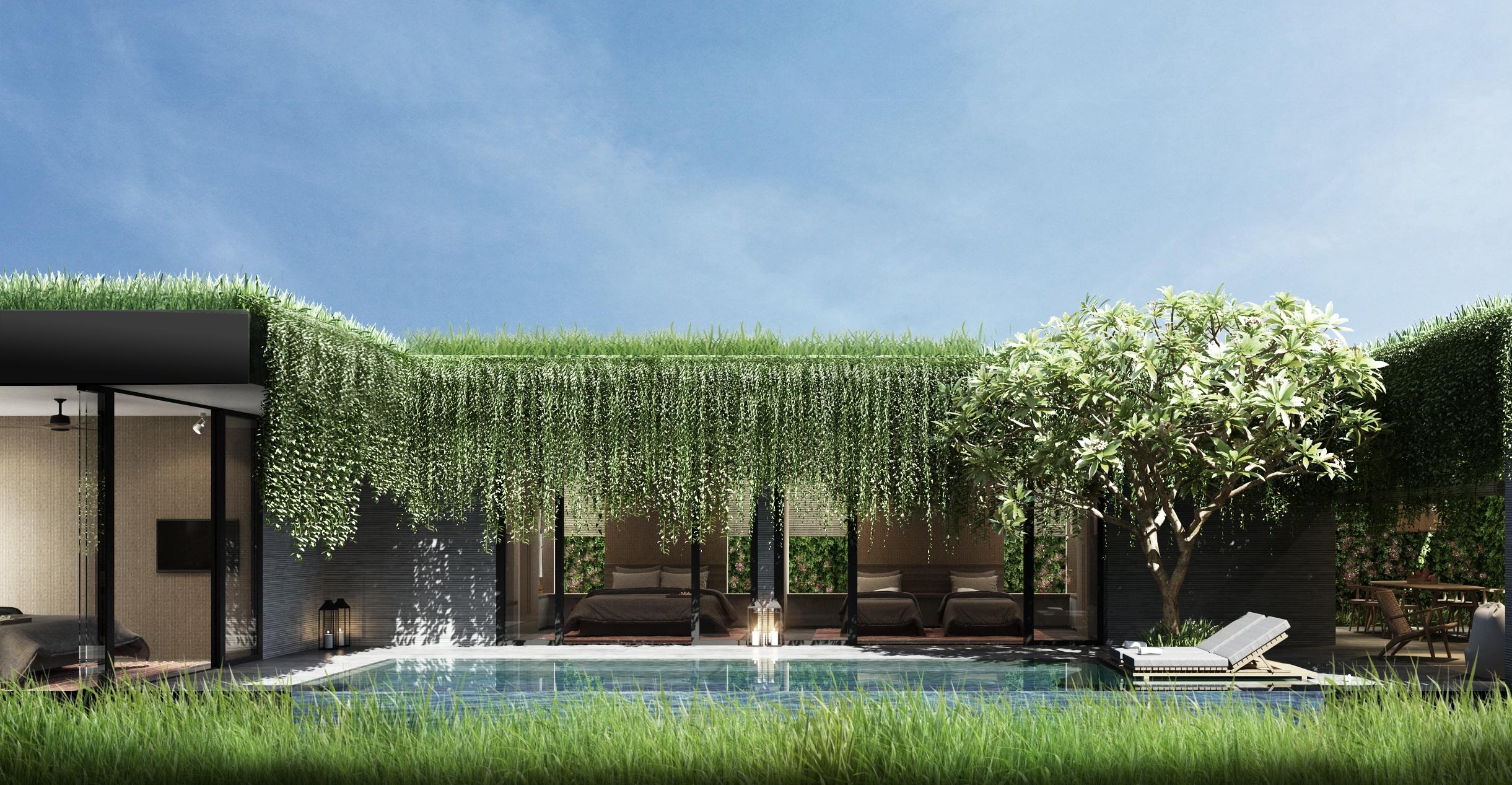 The Coast Villas với những dấu ấn khác biệt về phong cách thiết kế.