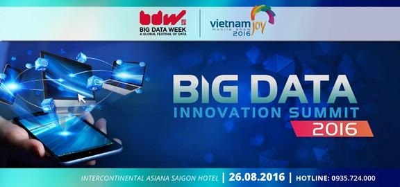 3 lý do để tham dự diễn đàn Big Data Innovation Summit VN 2016