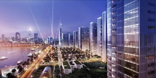 Toà căn hộ Lux 6 thuộc dự án Vinhomes Golden River hội đủ 3 tầm nhìn đắt giá: trung tâm thành phố, hướng Thảo Cầm Viên và hướng sông Sài Gòn.