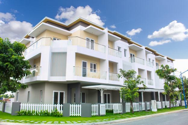 Phong cách thiết kế nhà ở hiện đại tại Melosa Garden.