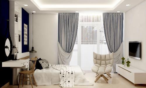 Chỉ từ một tỷ đồng, khách hàng có thể sở hữu căn hộ 2 phòng ngủ Conic.