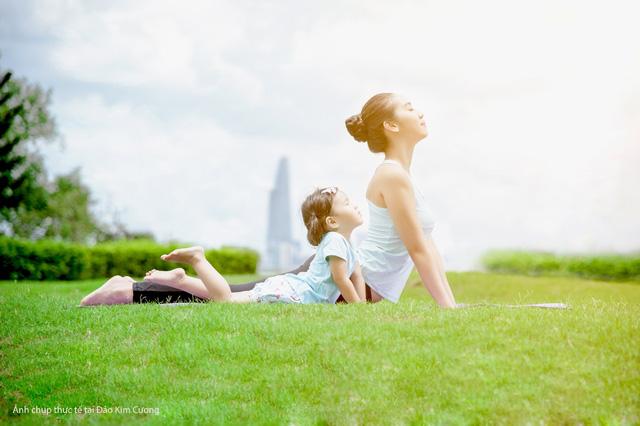 Đảo Kim Cương mang đến một không gian sống trong lành với 86,5% diện tích dành cho mảng xanh – Kusto Home quyết định xây dựng Đảo Kim Cương trở thành nơi an cư lý tưởng cho tất cả các thế hệ trong gia đình.