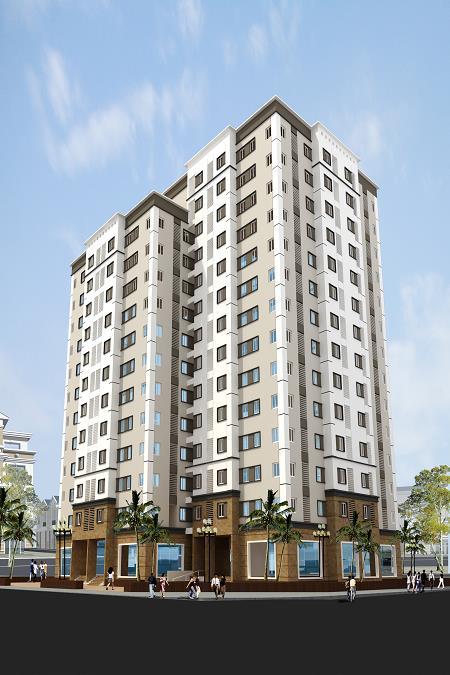 Toàn cảnh dự án Ruby City 2 – Giang Biên – Long Biên – Hà Nội.