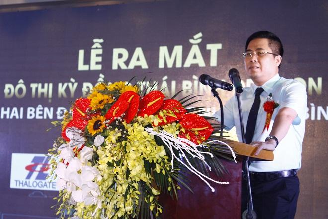 Ông Nguyễn Hoàng Giang -  Phó chủ tịch UBND Tỉnh Thái Bình.