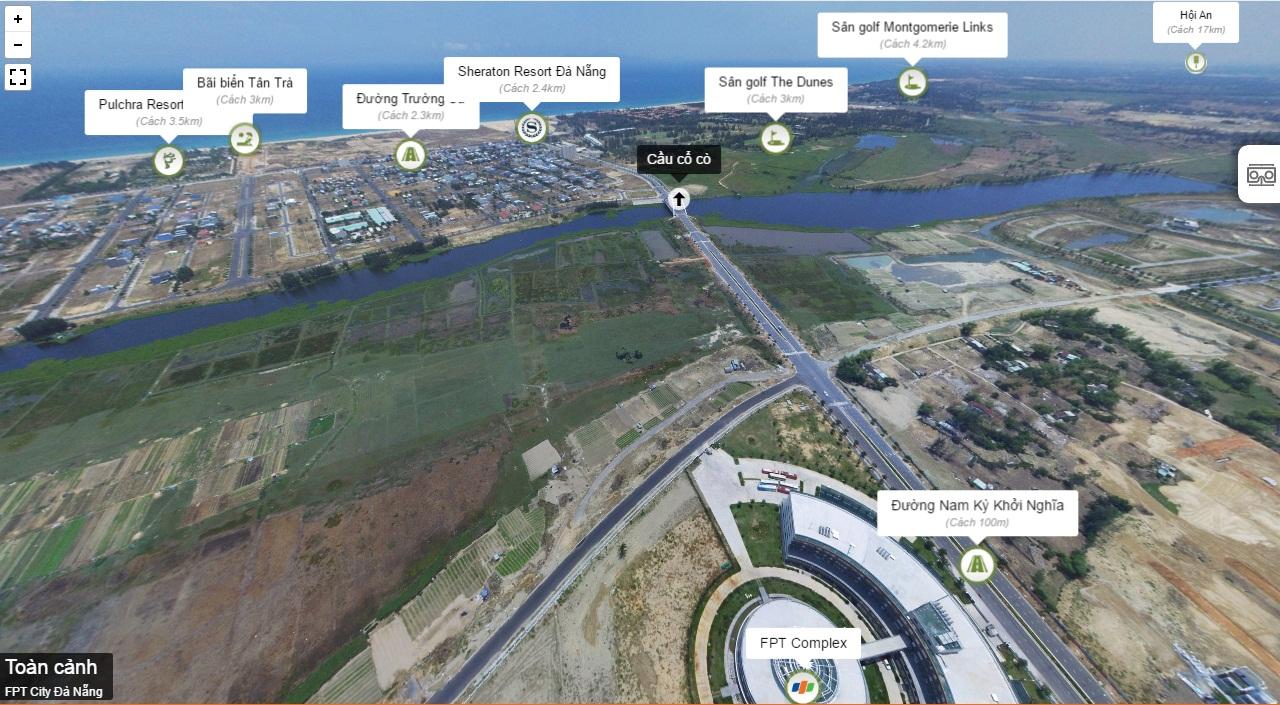 Hàng loạt dự án lớn như Khách sạn Sheraton phục vụ APEC 2017, FPT City với quy mô 50.000 người đang được rầm rộ triển khai tại khu Nam Đà Nẵng.