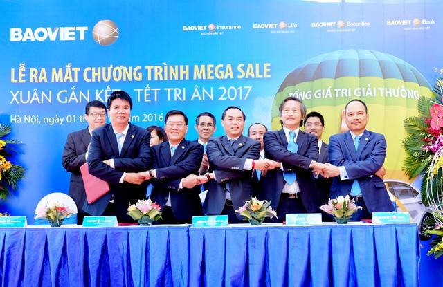 Bảo Việt cung cấp sản phẩm tích hợp, đa tiện ích tới khách hàng với hơn 13.000 giải thưởng.