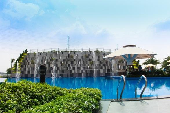Tiện ích tại Melosa Garden đã hiện hữu như: hồ bơi, hồ thủy tạ, khu BBQ, phòng Gym, minimart, khu vui chơi thiếu nhi…