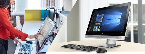 Nằm trong phân khúc AiO nên bộ đôi HP ProOne 400 G2 và HP EliteOne 800G2 gồm có một màn hình, một bàn phím và một chuột điều khiển.